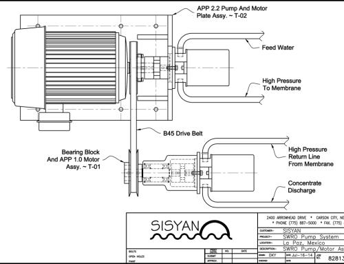 Sisyan T-1 Solar Photovoltaic Seawater Reverse Osmosis Desalination Module